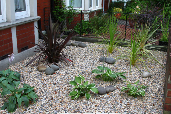 Garden designers jesmond newcastle upon tyne north east for Low maintenance plants for small gardens